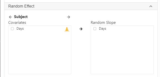 random slope